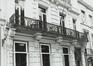 place du Petit Sablon 14. Hôtel de maître néoclassique, détail., 1980