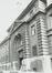 Rue des Petits Carmes 26 (20 à 34). Caserne Prince Albert, détail façade principale, 1980