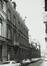 Rue des Petits Carmes 26 (20 à 34)Caserne Prince Albert, façades rue du Pépin 15-17, 1980