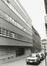 Rue des Prêtres 15 à 1, angle rue aux Laines. Ancien Dispensaire Albert-Elisabeth, 1980