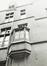 rue Ravenstein 3, anc. Hôtel de Clèves-Ravenstein, détail façade rue Terarken., 1980