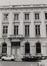 place Royale 3, angle rue de la Régence 1. Portiques et façades des immeubles bordant la place Royale;