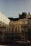 Place Royale 4, rue de la Régence 2. Portiques et façades des immeubles bordant la place Royale. Anc. Palais du comte de Flandre, cour intérieure, 1987