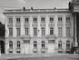 place Royale 7-8. Portiques et façades des immeubles bordant la place Royale ; Église Saint-Jacques sur Coudenberg. Cour d'Arbitrage., [s.d.]