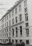 place Royale 7-8, impasse de Borgendael. Portiques et façades des immeubles bordant la place Royale. Portique de l'impasse du Borgendael ; Cour d'Arbitrage,  façade latérale depuis l'impasse de Borgendael., 1981