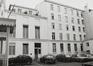 place Royale 11-12. Portiques et façades des immeubles bordant la place Royale, aile latérale dans la cour, 1980