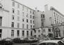 place Royale 11-12. Portiques et façades des immeubles bordant la place Royale, aile latérale de liaison dans la cour, 1980
