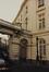 place Royale 4 et rue de Namur 1. Portiques et façades des immeubles bordant la place Royale. Portique de la rue de Namur ; Anc. Palais du comte de Flandre, 1987