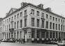 rue Royale 72, angle rue des Colonies 37-51. Anc. Hôtel de Lannoy, anc. Hôtel de Ligne, 1980