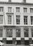 rue Royale 72. Anc. Hôtel de Lannoy, anc. Hôtel de Ligne, détail façades rue des Colonies 37-51, 1980