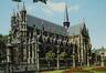 Rue des Sablons. Église paroissiale Notre-Dame du Sablon, portail ouest et façade sud, [s.d.]