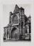 Rue des Sablons. Église paroissiale Notre-Dame du Sablon, portail ouest, [s.d.]