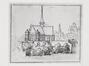 Rue des Sablons. Église paroissiale Notre-Dame du Sablon, dessin de R. Cantagallina, [s.d.]