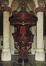 Rue des Sablons. Église paroissiale Notre-Dame du Sablon, intérieur, chaire de vérité, [s.d.]