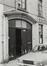 Rue de la Samaritaine 45, détail porche, 1980