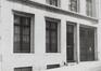 rue Thérésienne 9, détail rez, 1981