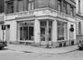 rue Blaes 83-85, angle rue du Miroir, détail rez., 1980