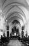 rue Blaes 91-93. Ancien Couvent Saint-Augustin des Sœurs Noires d'Afrique. Maison de repos Sainte-Monique. Intérieur chapelle., 1989