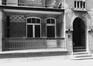 rue Blaes 174-198. Cité HellemansLes Anciennes Habitations, rue des Brodeurs, détail balcon., 1980