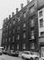 rue Blaes 174-198. Cité HellemansLes Anciennes Habitations, façades rue Haute, angle rue Pieremans., 1980