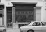 rue des Brasseurs 8-10, détail devanture., 1980