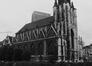 place de la Chapelle. Église Notre-Dame de la Chapelle, façade ouest., 1980