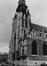place de la Chapelle. Église Notre-Dame de la Chapelle, portail ouest., 1980