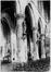 place de la Chapelle. Église Notre-Dame de la Chapelle, vue intérieure., 1985