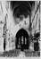 place de la Chapelle. Église Notre-Dame de la Chapelle, vue intérieure, 1985