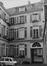 Rue du Chêne 10. Maison Patricienne, façade arrière, 1980