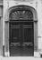Rue du Chêne 21, détail porte, 1980