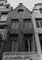 rue de la Colline 7. Ensemble de maisons traditionnelles rue de la Colline 5-17, détail étages, 1981