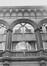 rue Duquesnoy 14. Galerie Bortier et ancien marché de la Madeleine, détail façade., 1980
