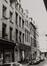 Spoormakersstraat 53-55. Geheel van traditonele huizen en voormalige hertog van Savoyegang, 1980