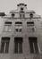 rue des Éperonniers 71-73. Ensemble de maisons traditionnelles et ancienne impasse du Duc de Savoie, détail étages, 1980