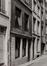 Gootstraat 3. Traditioneel huis, detail onder, 1980
