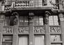 Grand-Place 7. Le Renard, détail rez, 1978