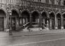 Grand-Place. Hôtel de Ville, détail rez, 1978