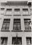 rue des Harengs 8, détail étages, 1984