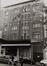 rue Haute 195-197. Maison de confection Michiels, façade rue des Capucins., 1980