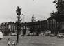 place du Jeu de Balle 50-79. Ancienne Caserne des Pompiers, après transformation, 1980