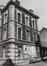 place du Jeu de Balle 50-79. Ancienne Caserne des Pompiers, façade rue de la Rasière, 1980