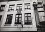 rue du Marché au Charbon 72. Maison traditionnelle, détail étages, 1984