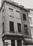 rue du Marché au Charbon 73-75, angle rue de Bon-Secours. Maison traditionnelle, 1980