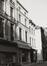 rue du Midi 50 et 52, façades rue du Marché au Charbon 21 et 23., 1980