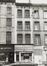 rue du Midi 62, 64, façade rue du Lombard 19 à 23., 1980