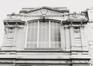 Rue du Midi 144. Académie Royale des Beaux-Arts, détail façades à rue, 1985