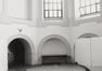 Rue du Midi 144. Académie Royale des Beaux-Arts, intérieur chapelle, 1985