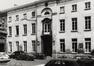Rue du Midi 144. Académie Royale des Beaux-Arts, grande cour, façade sud, 1985