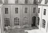 Rue du Midi 144. Académie Royale des Beaux-Arts, cour du cloître, 1985